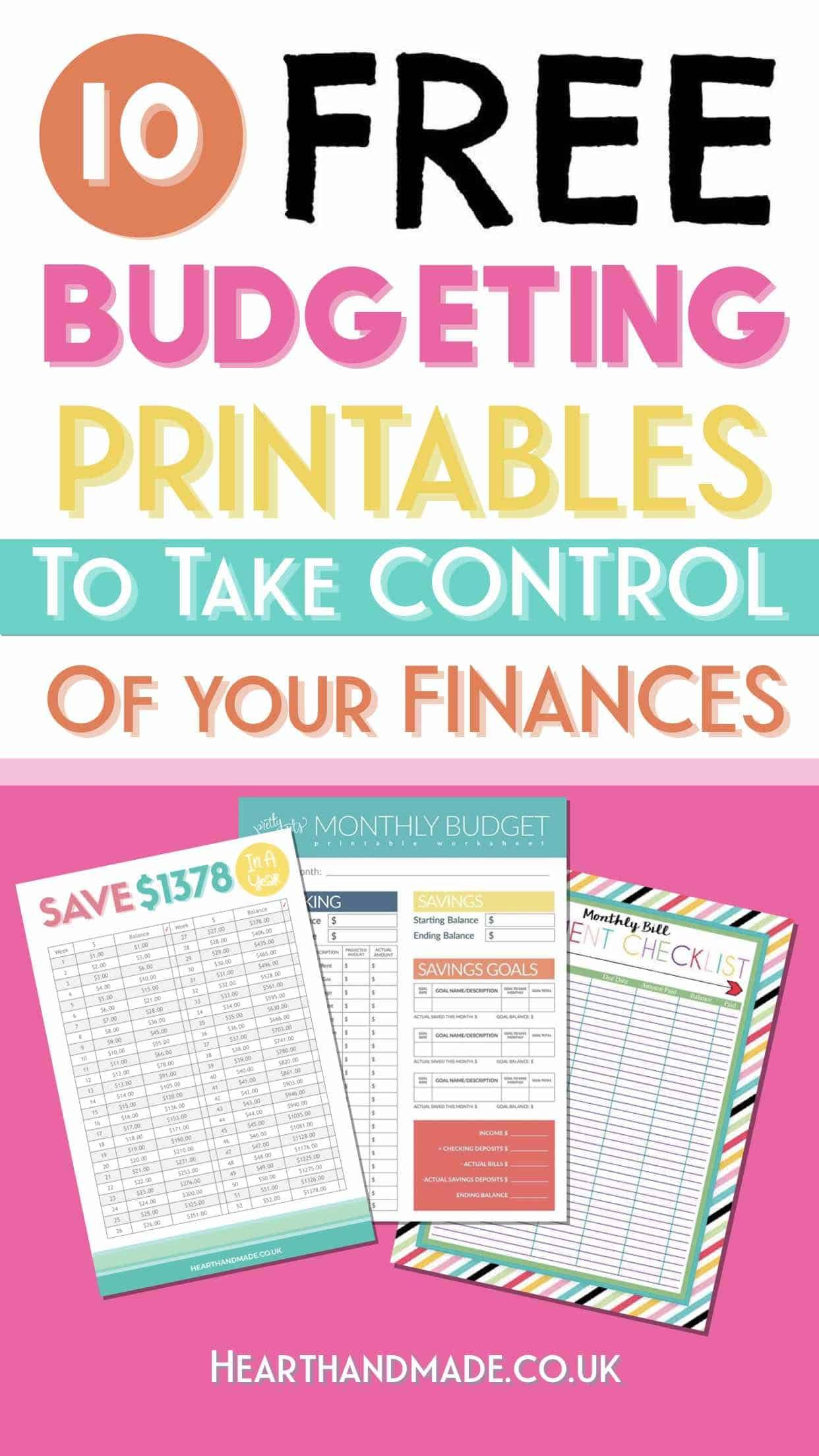 20 Fabulous and Totally Free Planner Printables