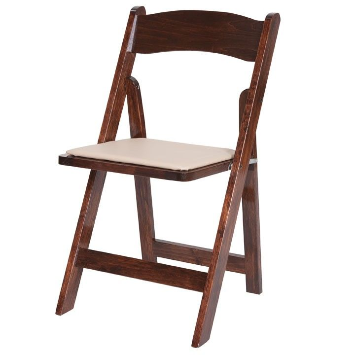 Exceptional RUSTIC   Fruitwood Folding Chair