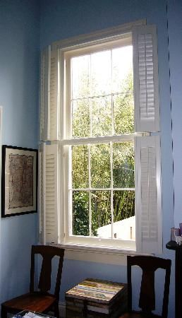 Double Hung Plantation Shutters Open Budget Blinds New