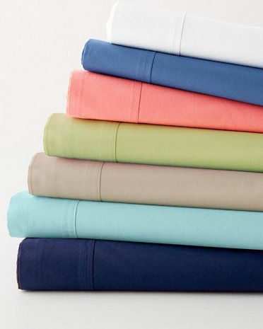 Fiesta Solid Percale Bedding