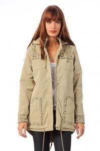 Numph Ocieplana Parka Bezowa S 36 Sale 4923565676 Oficjalne Archiwum Allegro Jackets Fashion Bomber Jacket