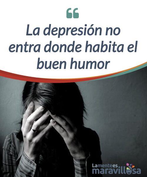 """La depresión no entra donde habita el buen humor  Una de las mejores #terapias para eliminar la depresión es el sentido del humor. La risa sirve para enfrentar las penas y también curar #enfermedades, al fortalecer el sistema #inmune. ¡Por ello no debemos dejar de sonreír aunque estemos muy tristes! Algunos le dicen """"ver el medio vaso lleno"""" a la situación, otros ser optimistas…   #Emociones"""