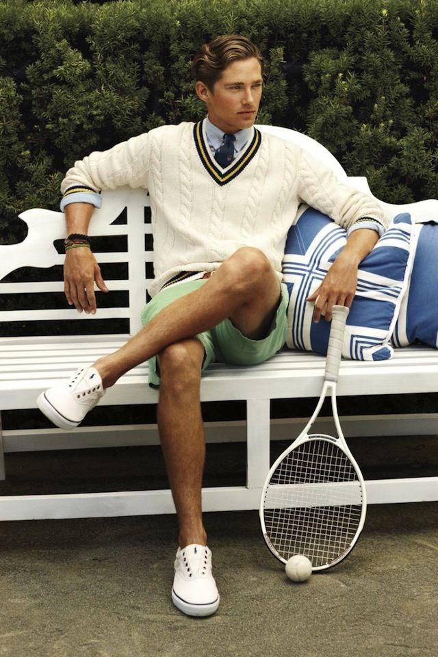 Preppy Abiti Da Tennis Vestiti Eleganti Da Uomo Stile Uomo