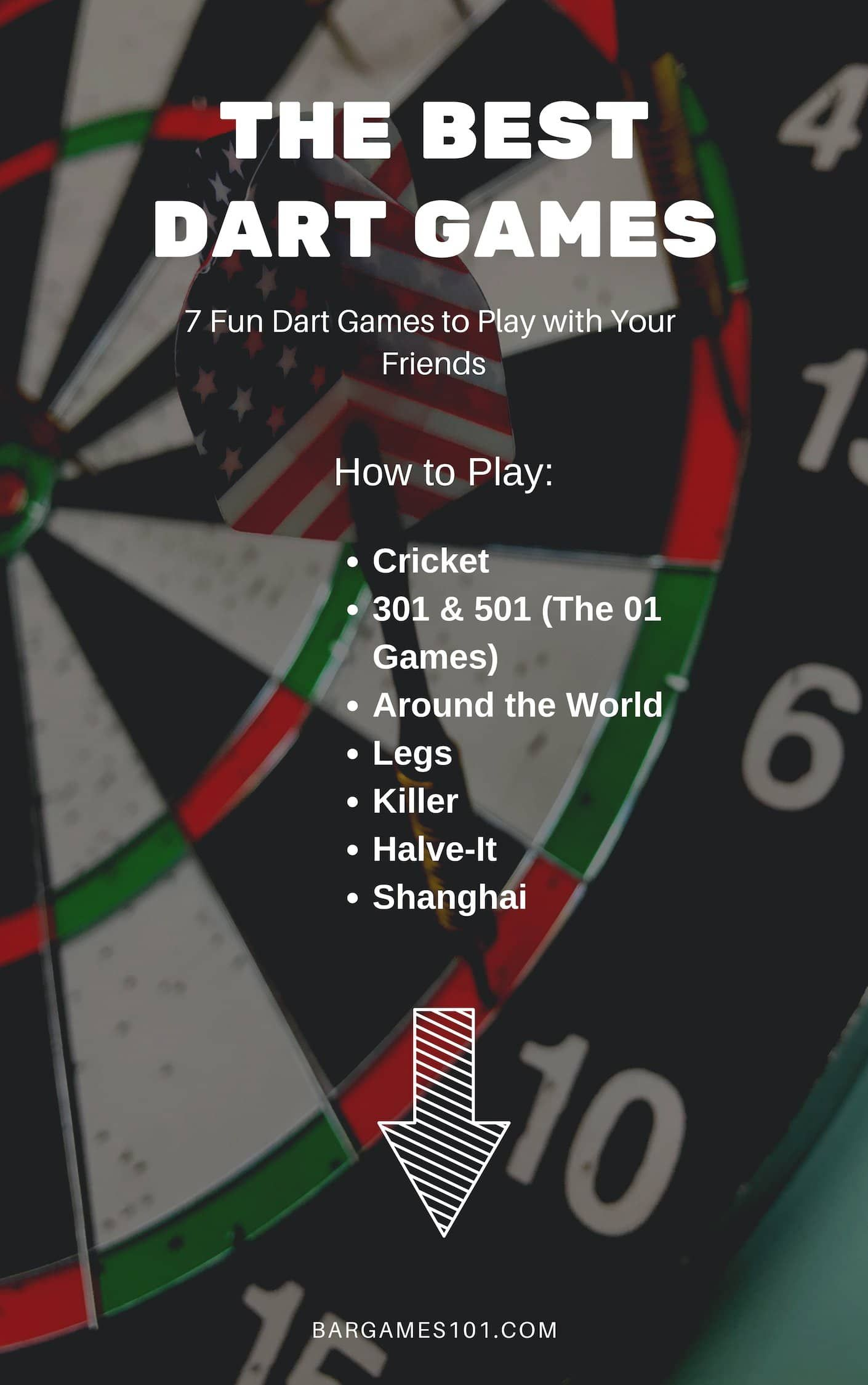10 Best Dart Games Fun and Popular Games for All Skill
