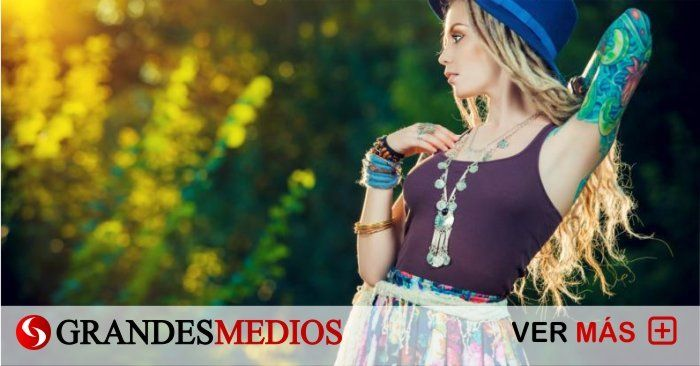 Photo of Viste al estilo hippie boho chic