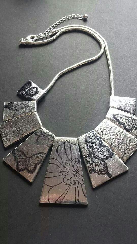 #stamping #stampinup #craft #creative #stampinupuk #secretgarden #papillonpotpourri #cardmaking  #metal #jewellery #keepsake http://sally-johoughton.stampinup.net/