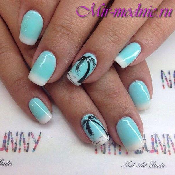 Дизайн ногтей для лета