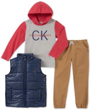 bbabac017b53 Calvin Klein 3-Pc. Baby Boys Vest