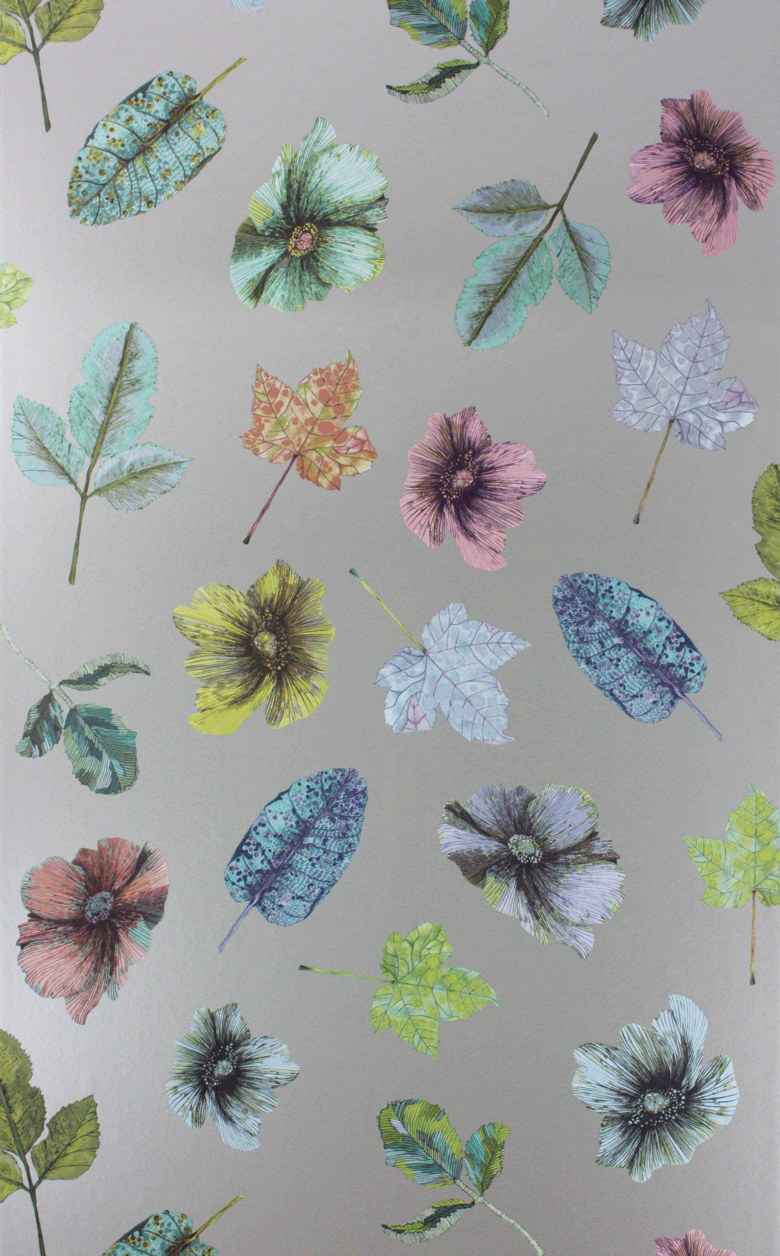 Woodland wallpaper by Osborne & Little | Fabrics | Wallpaper, Autumn ...