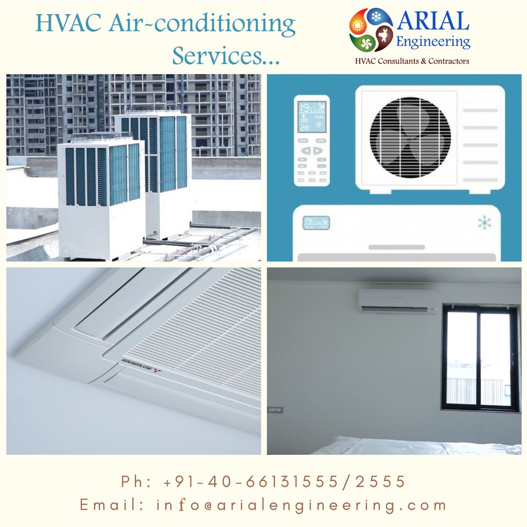 Hvac Vrf Air Conditioning Services Arial Engineering Services