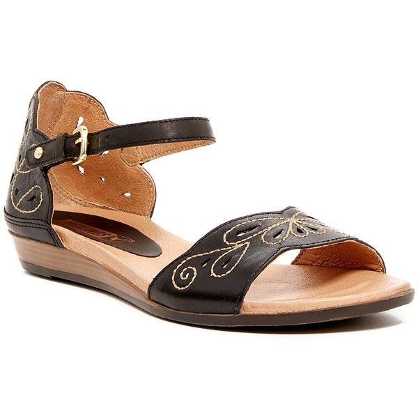 4d5f096f2f3 Pikolinos Alcudia Laser Cut Sandal ( 80) ❤ liked on Polyvore featuring  shoes