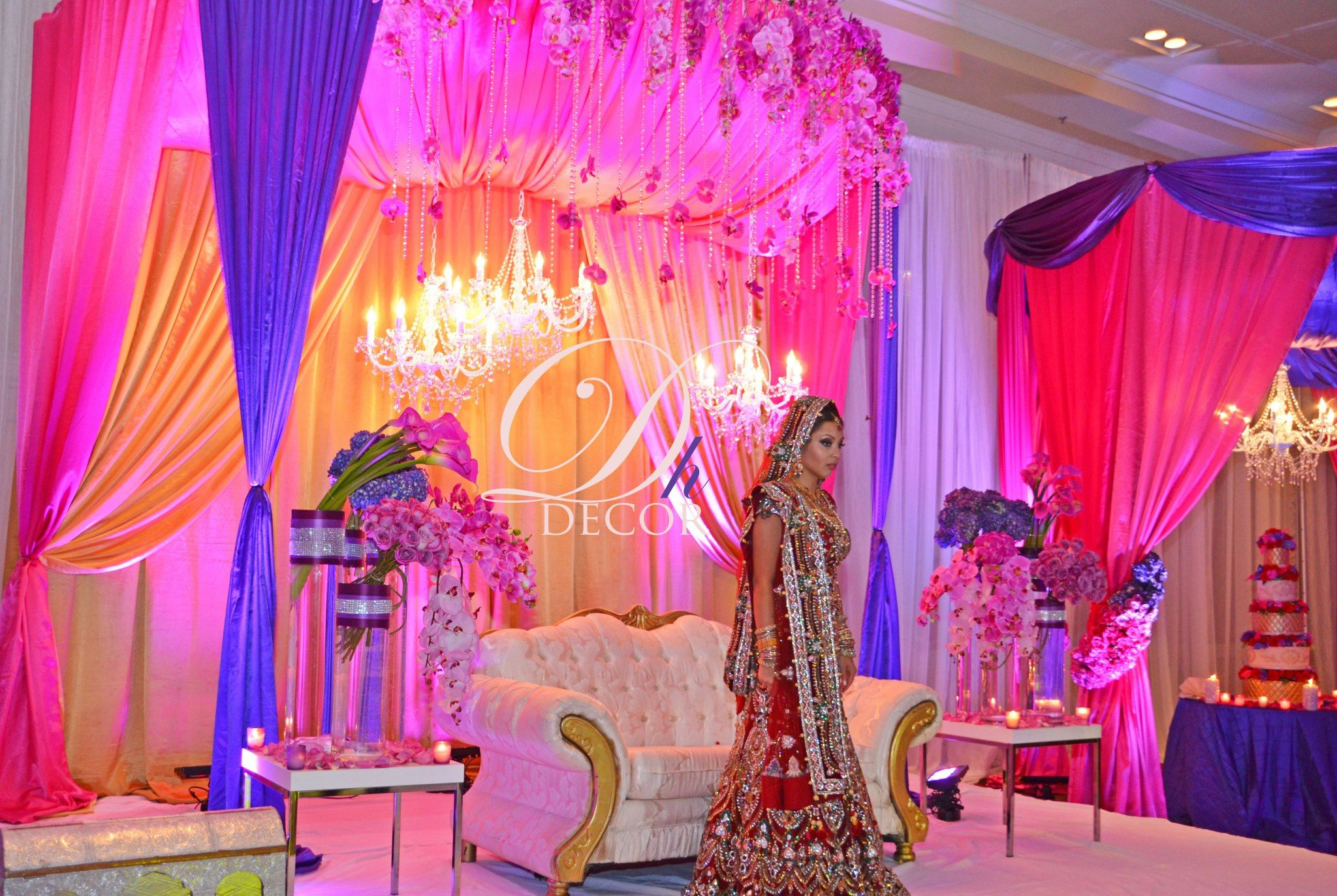 Wedding decoration stage ideas  FABULOUSLY Designed  CrossCulture Couture  IndianAsian Weddings