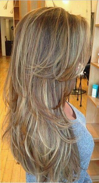 Shatush Shatool Contrast Degrade Parrucchierepalermo Long Hair Styles Hair Styles Long Layered Hair