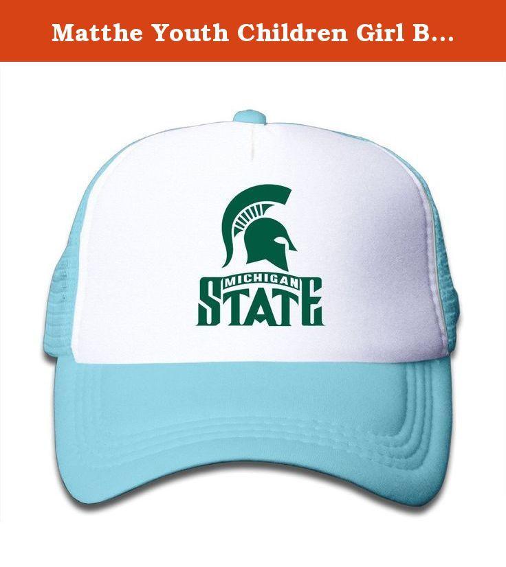 Matthe Youth Children Girl Boy Kids Cartoon Printed Pattern Michigan State  University MSU Michigan State Spartans 69ddfc300781