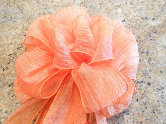 Custom Made Bows for Home Decor Weddings and door GregandGreta