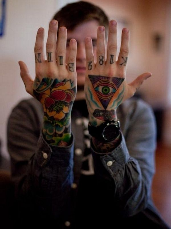 45 Stylish Hand Tattoo Designs For Men And Women Hand Tattoos Hand Tattoos For Guys