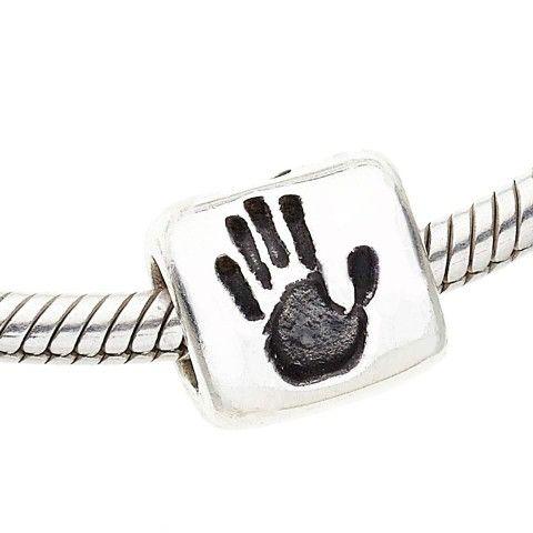 Fingerprint Pandora Charm