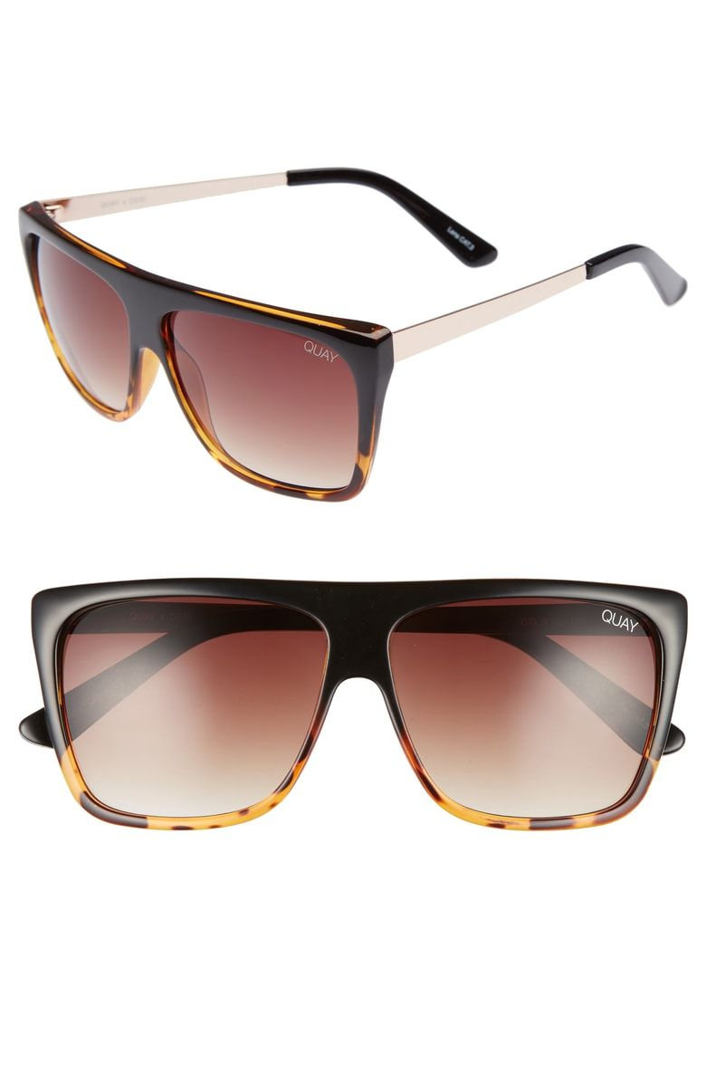 fea84c3b0ff541 Free shipping and returns on Quay Australia x Desi Perkins On the Low 60mm  Square Sunglasses at Nordstrom.com.  p Designed in collaboration with  YouTube ...