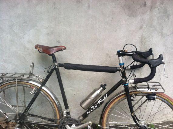 Bicycle Frame Top Tube Protector Black Bikes