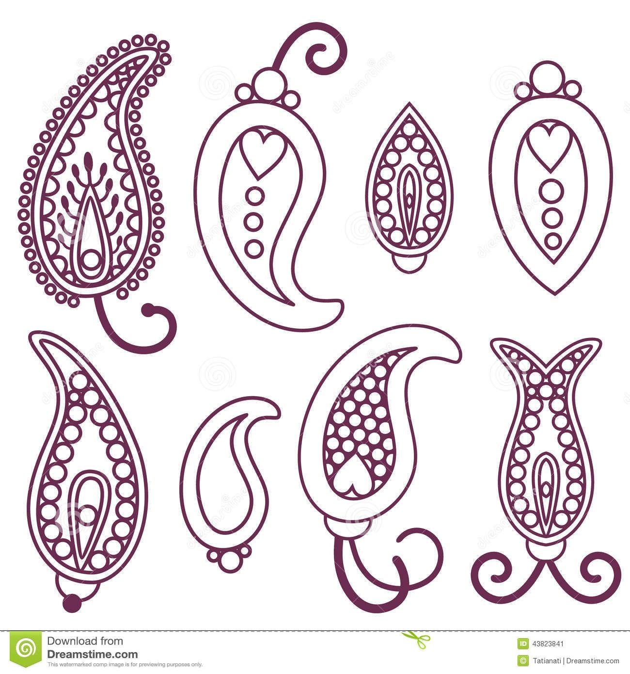 Name Paisley Purple Petals Previewpng Resolution 1500
