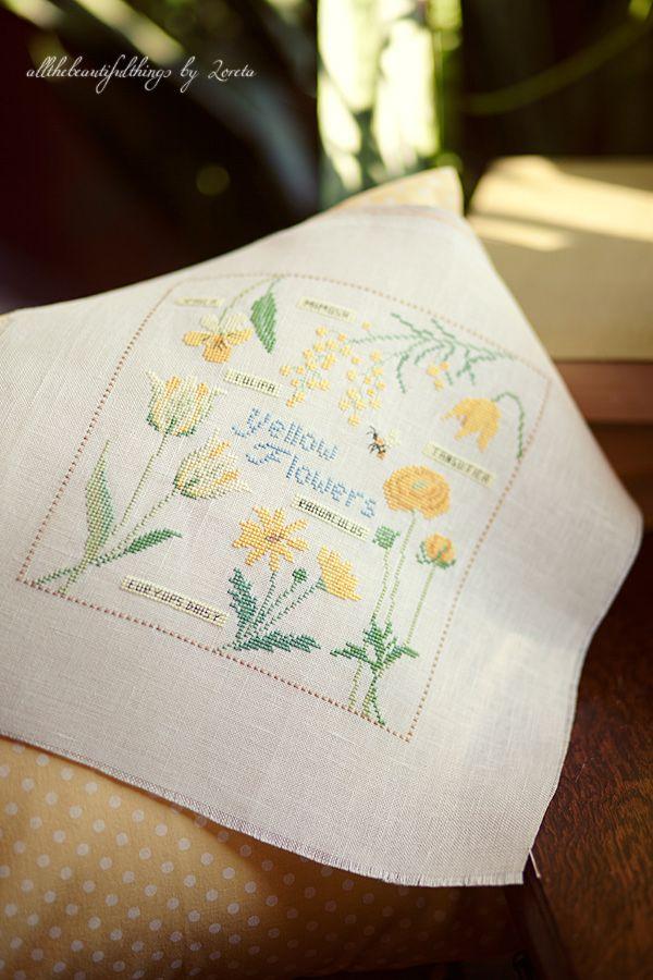 Yellow Flowers (Kazuko Aoki)
