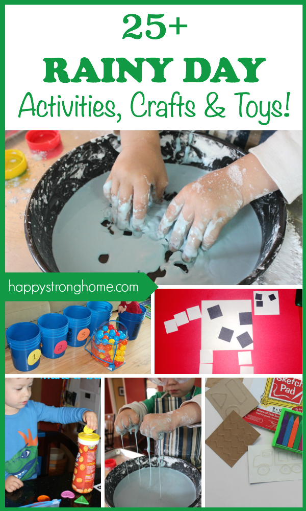 25 Best Rainy Day Activities Crafts And Toys Rainy Day