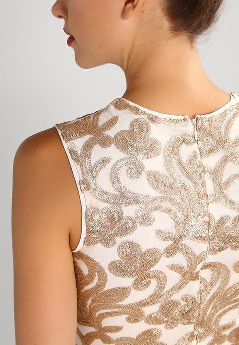 TFNC RENOIR - Cocktailkleid / festliches Kleid - gold/nude für SFr. 100.00 (23.11.16) versandkostenfrei bei Zalando.ch bestellen.