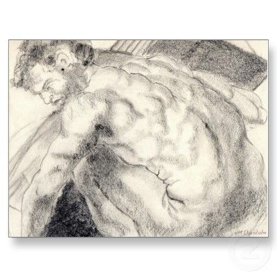 POSTCARDS - FANTASTIC DRAWING by Harriet Davidsohn - Fantastic! - ORDER IN BULK by libertydogmerch