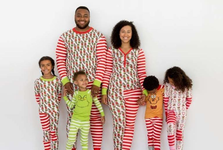 97de43ad2649 Matching Family The Grinch Pajamas