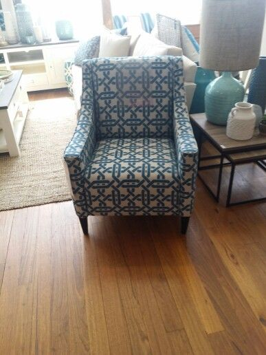 Another view of a chair to go with sofa
