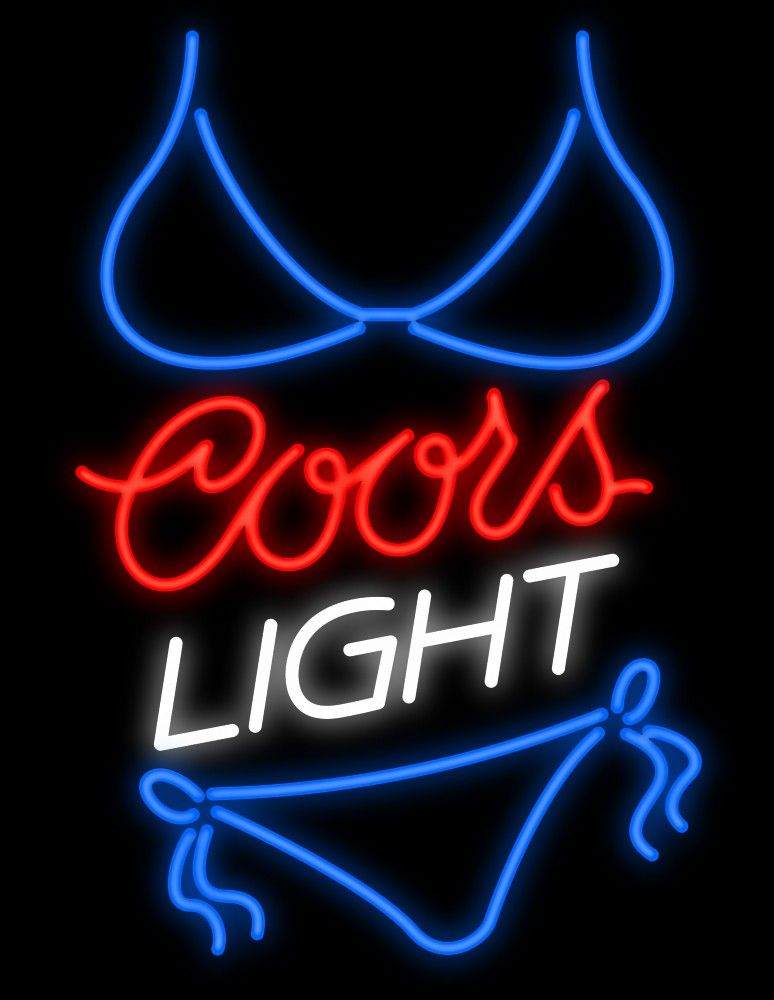 Coors Light Neon Sign Signs Beer
