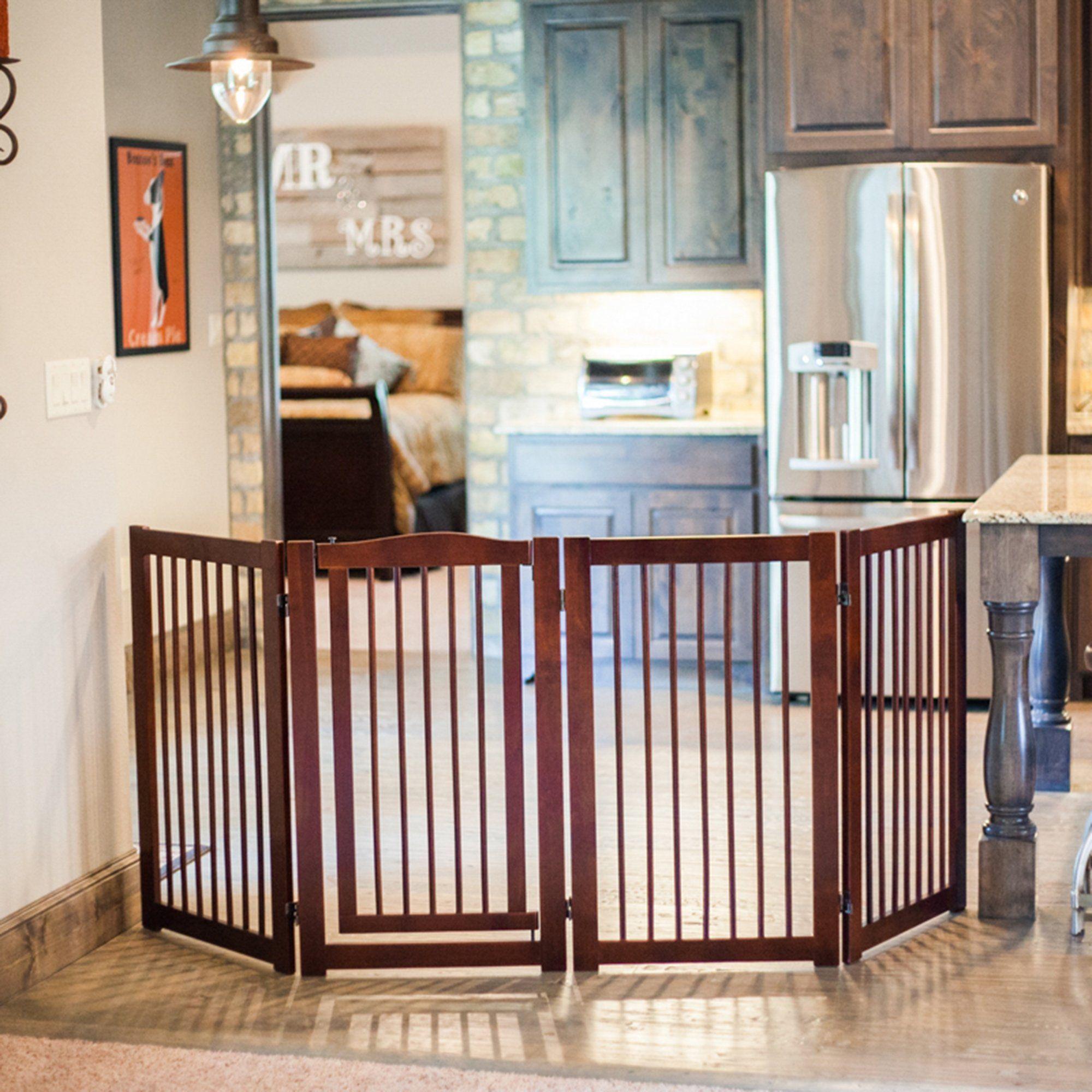Primetime Petz 360 Configurable Pet Gate With Door 36 H Large