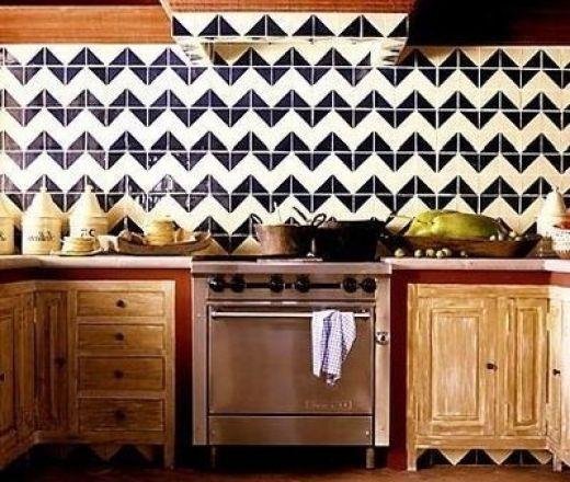 Courtesy of CocoCozy  http://www.cultivate.com/blog/10-ways-transform-kitchen-chevron
