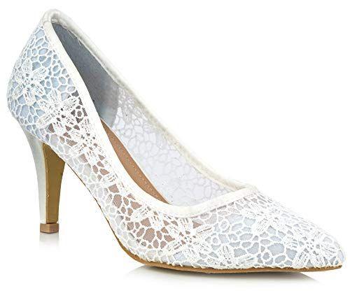 6b182338392095 Tinsel Sandales Compensées Femme - Blanc - Blanc 38 2/3 | Escarpins ...
