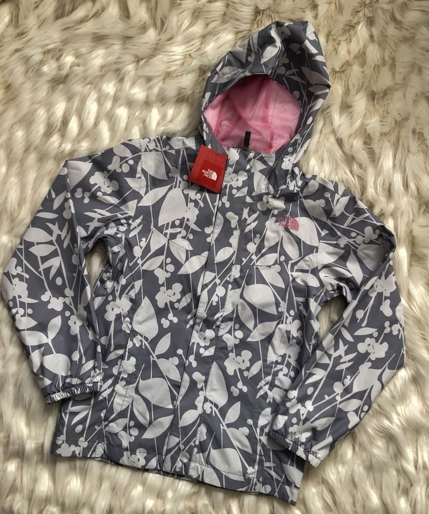 221405797 eBay  Sponsored GIRLS  The North Face Madison Rain Jacket Gray ...