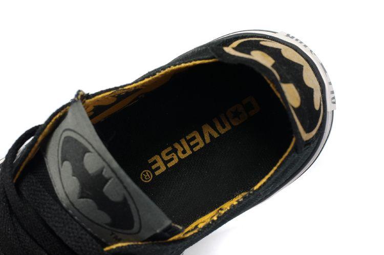 Converse DC Comics All Star Batman Shoes Low-top Blue Grey