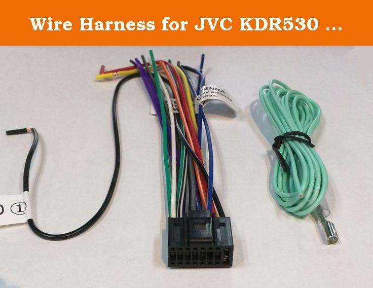 Wire Harness for JVC KDR530 KDR540 KDR640 KDR650 K… | In ... on