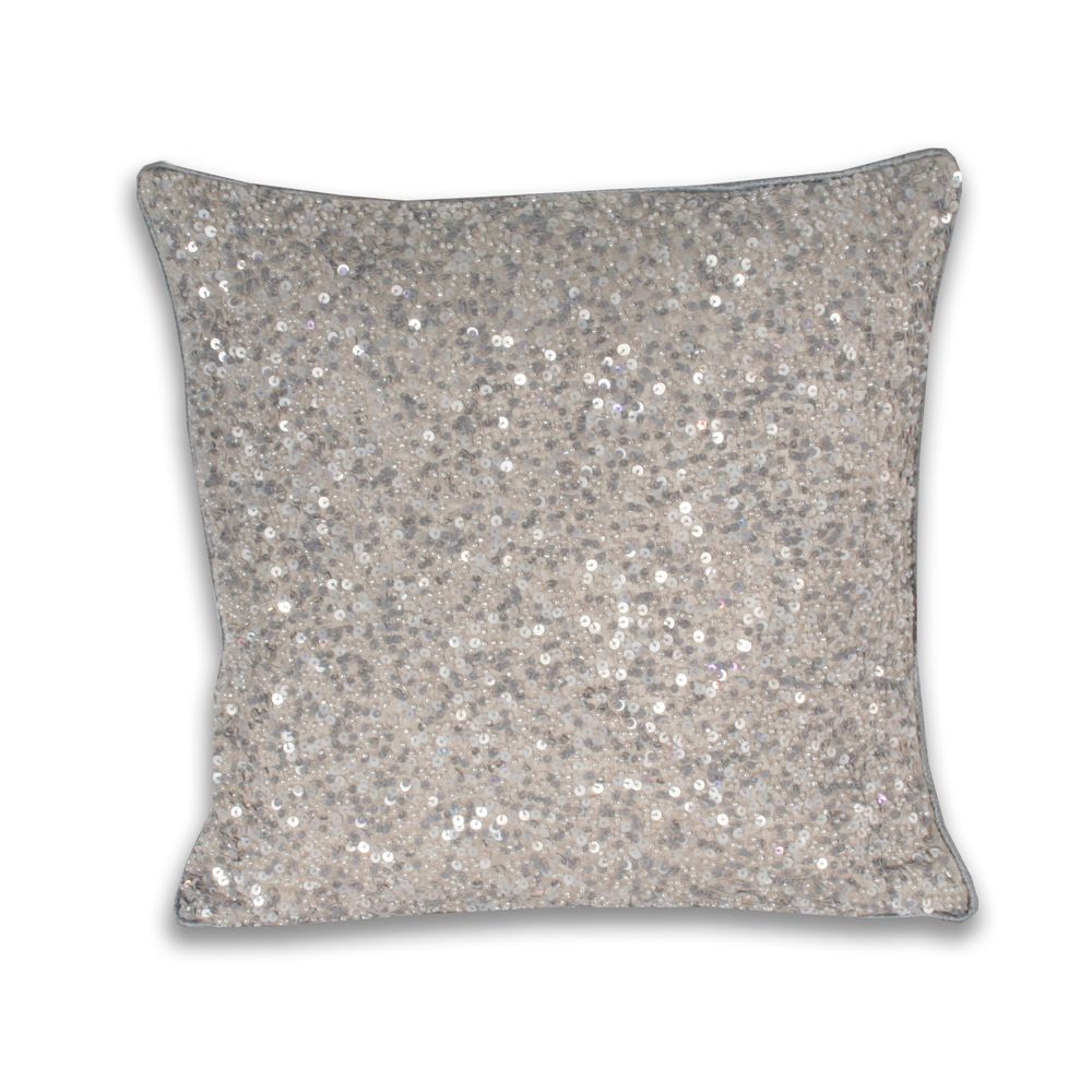 Marlo Lorenz Olivier Bead Embellished Pillow Overstock