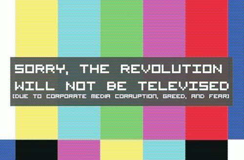 The Revolution Will Not Be Televised | Revolution, Funny memes, Lettering