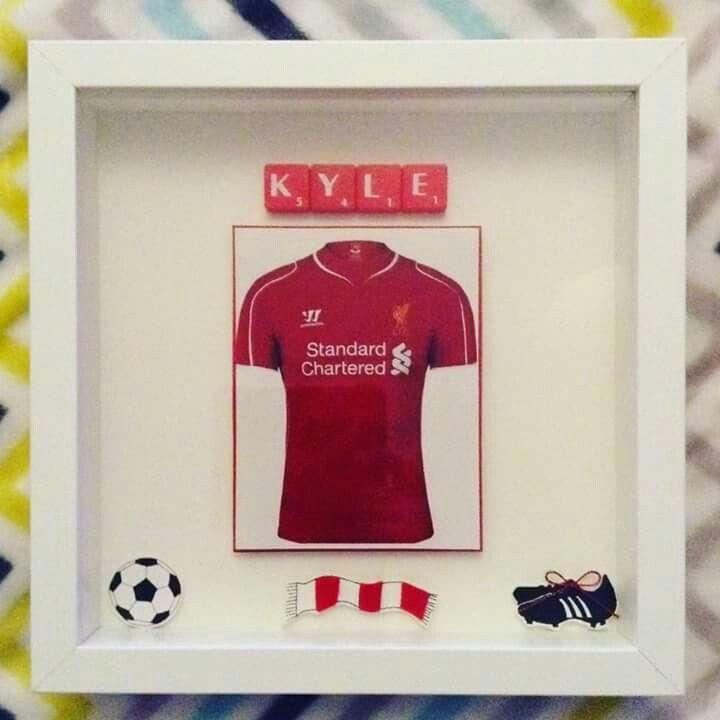 Liverpool Box Frame Scrabble Tiles Letters Football | Homemade stuff ...