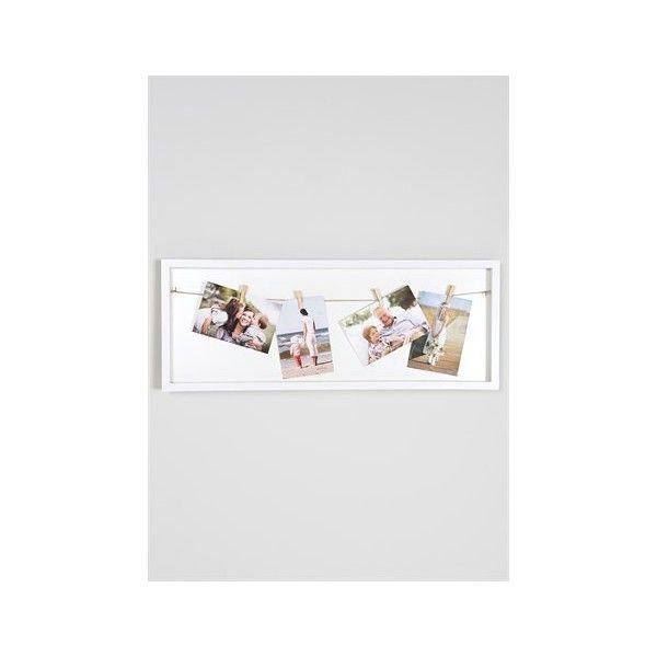 Clip Box Photo Frame (65cm x 24cm x 2.5cm) (£8) via Polyvore ...