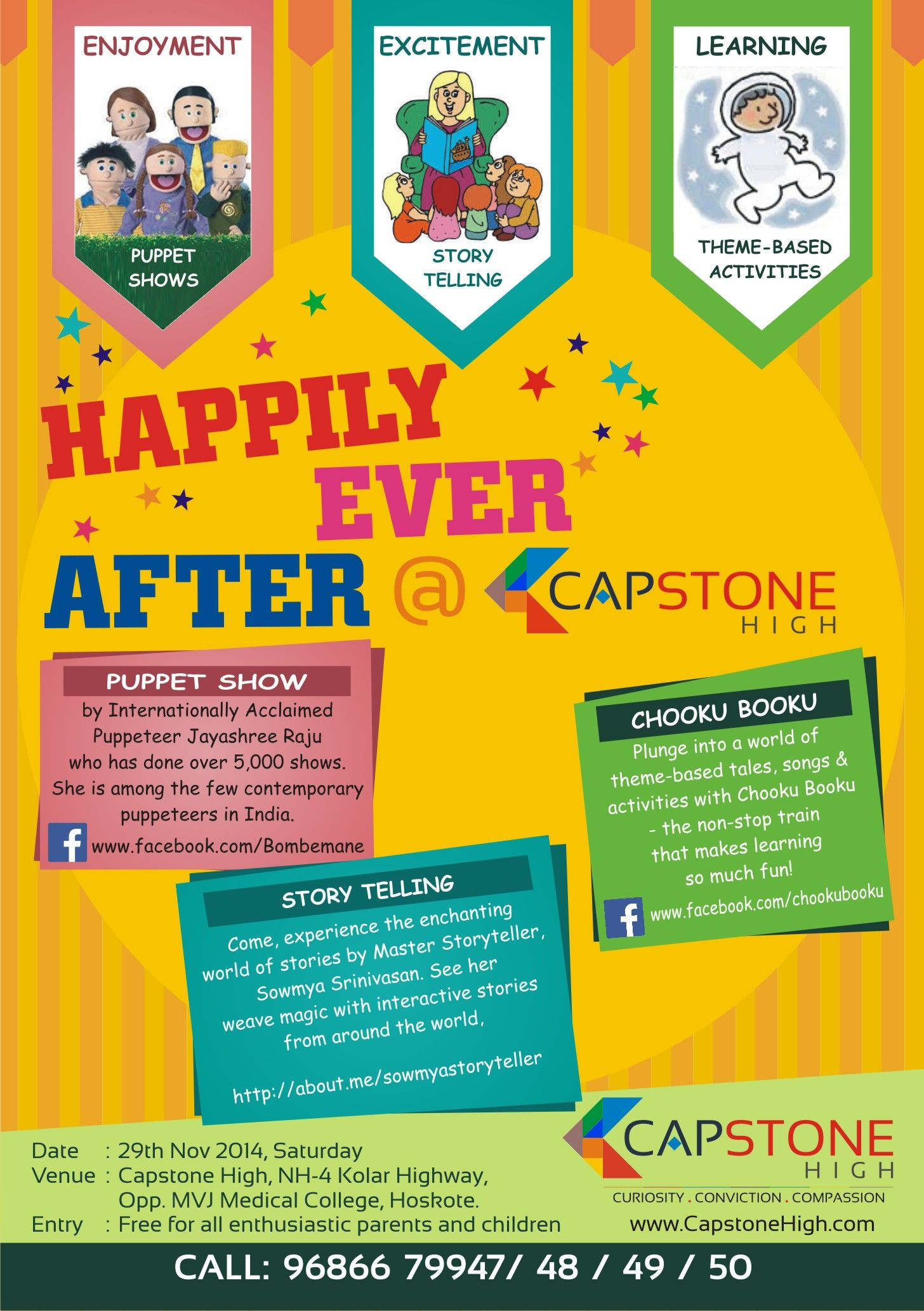 Fun weekend @ Capstone High. Dont miss it! Pre-register NOW!!!