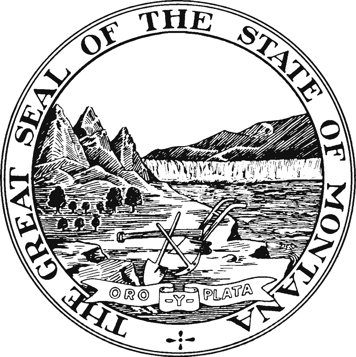 State Seal Of Montana Coloring Pages Flag Coloring Pages Printable Coloring Book