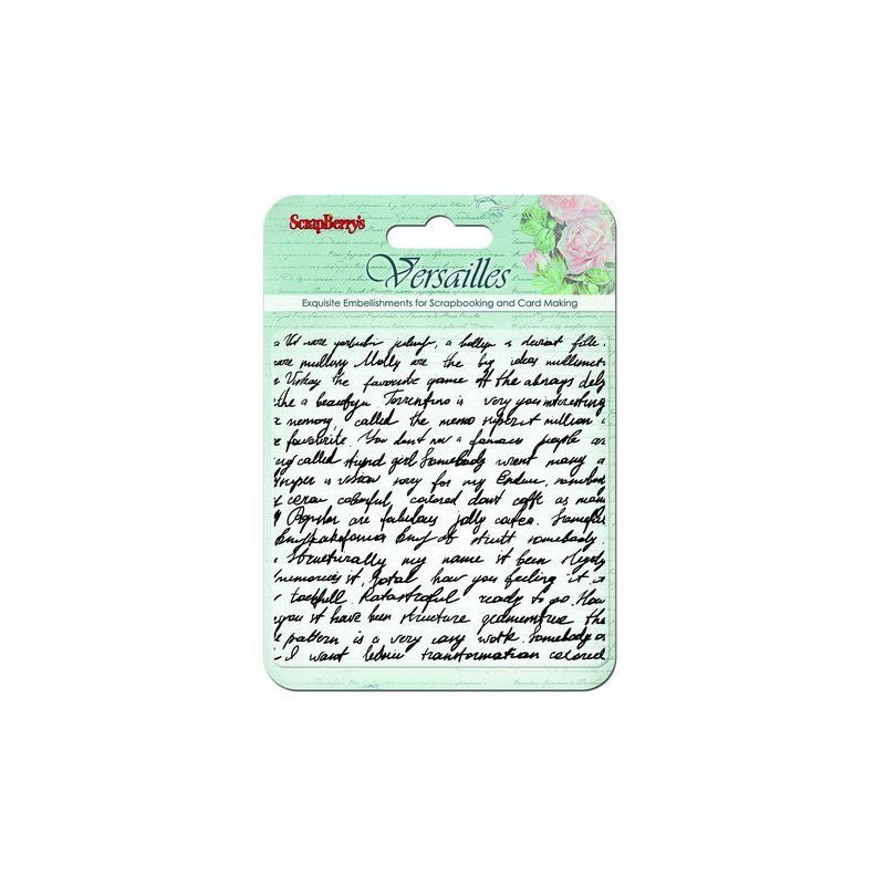 Clear Stamps - Versailles - Writings