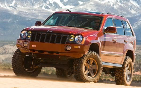 Jeep Grand Cherokee Grand Canyon Ii 285 70r17 Tires Superlift 4