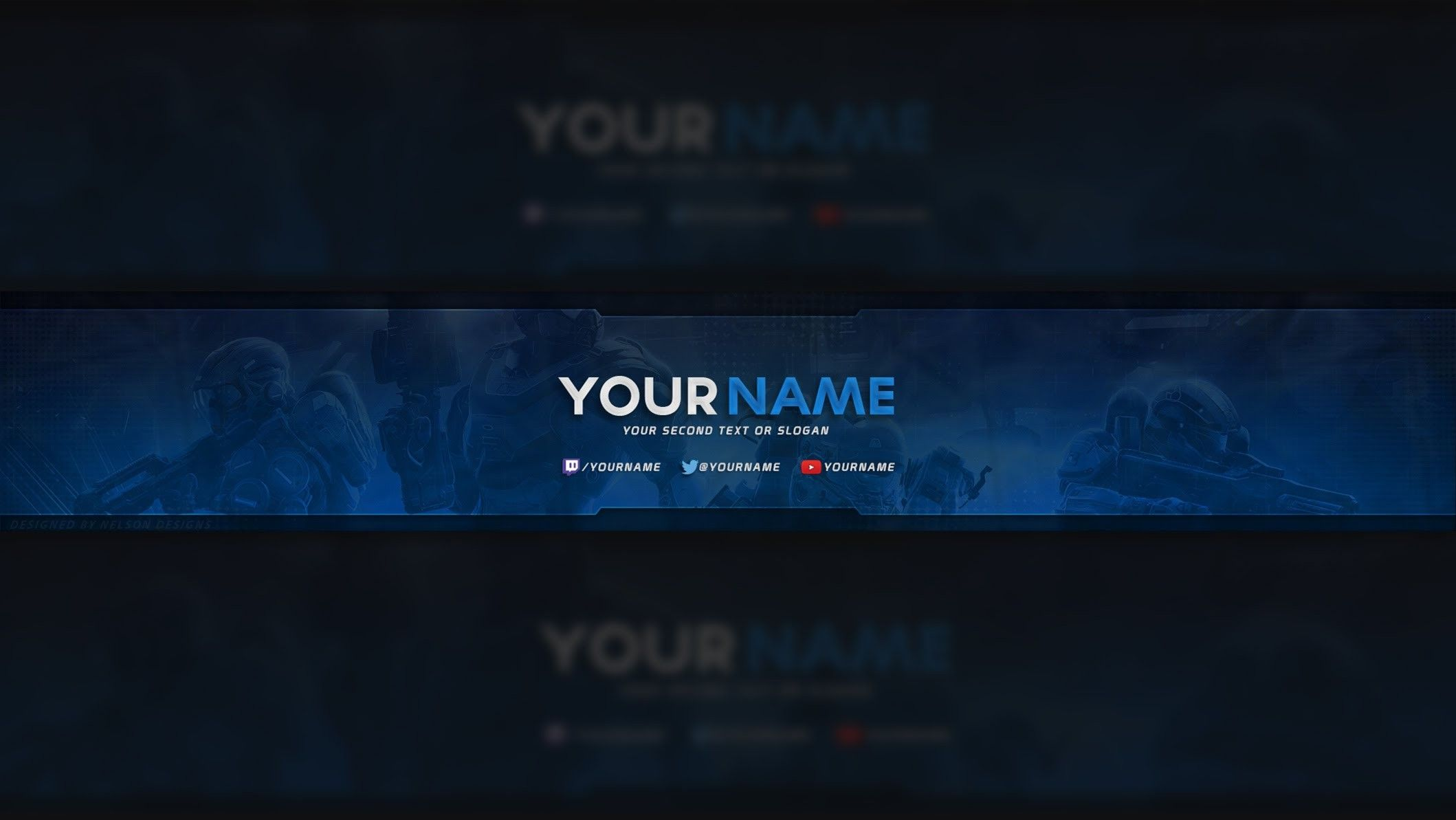 Youtube Banner Size Template 2017 New Free Youtube Banner Templates Gallery Youtube Banner Template Banner Template Photoshop Youtube Banner Backgrounds