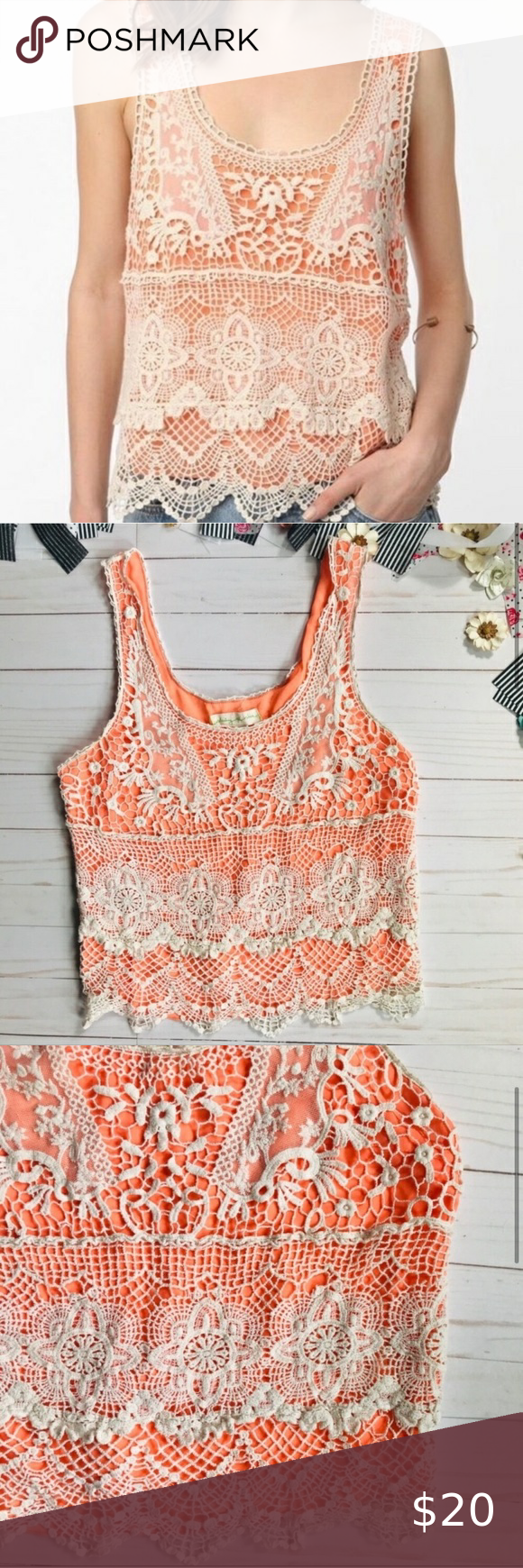 , Urban Outfitters Boho Lace Chiffon Tank Top SZ S This Urban Outfitters Staring at Stars Brand tank top is perfect for festivals concerts and vacation!…, My Pop Star Kda Blog, My Pop Star Kda Blog