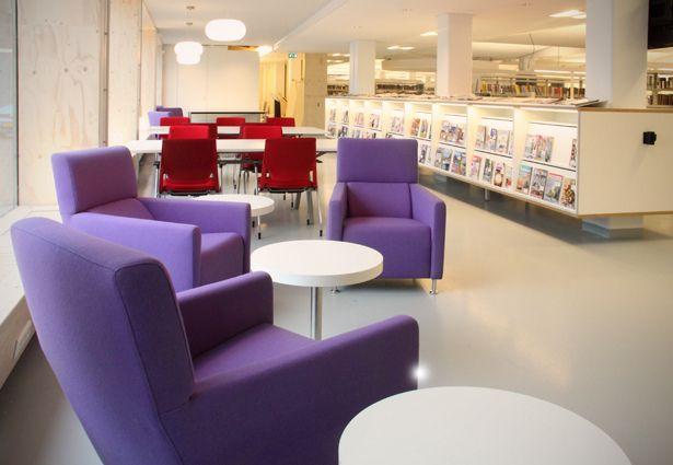 Kantoor En Meer : Bibliotheek de beuk woerden by objectform kantoor en