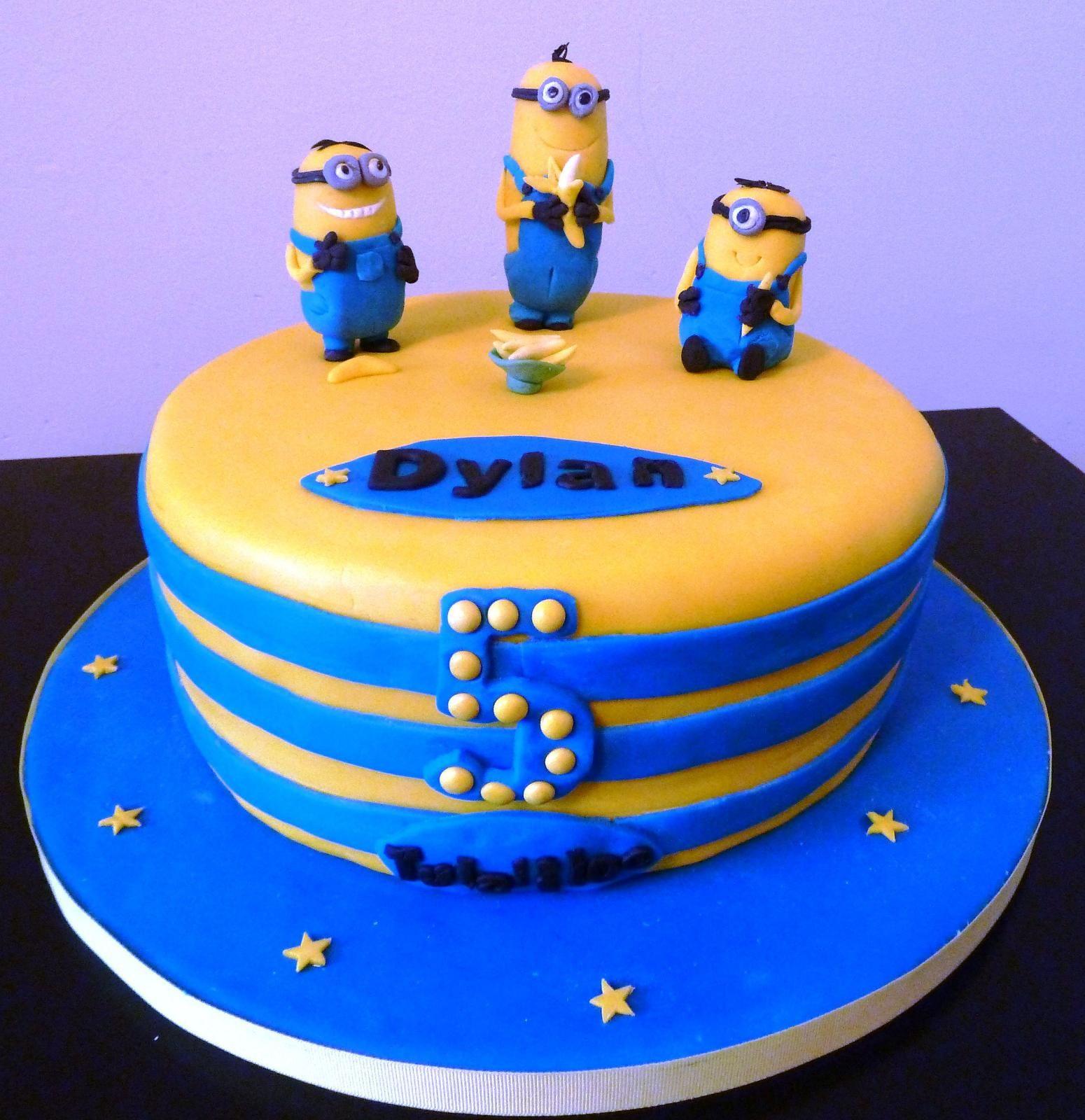 Despicable Me Birthday Cake Walmart