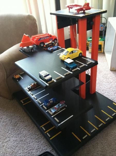Wooden play parking garage do it yourself home projects from ana wooden play parking garage do it yourself home projects from ana white more on good solutioingenieria Images